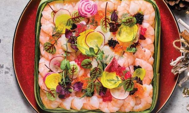A Surprising Swedish Christmas Prawn Salad by Chef Yen Koh | Unilever Food Solutions